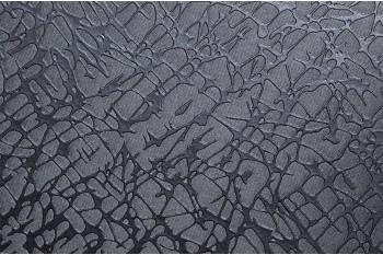 Самоклеящаяся виниловая пленка Coverstyl T9 - silvery grey crackled fabric