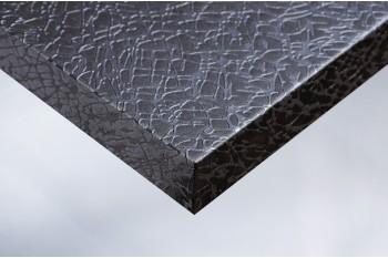 Самоклеящееся виниловое покрытие для стен и мебели, имитирующее раскраску и текстуру серебристо-серого полотна с трещинами